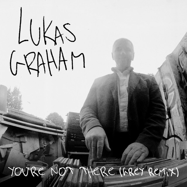Lukas Graham You're Not There (Grey Remix) album cover