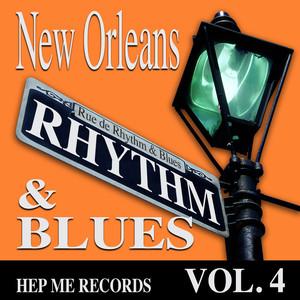 New Orleans Rhythm & Blues - Hep Me Records Vol. 4 Albumcover