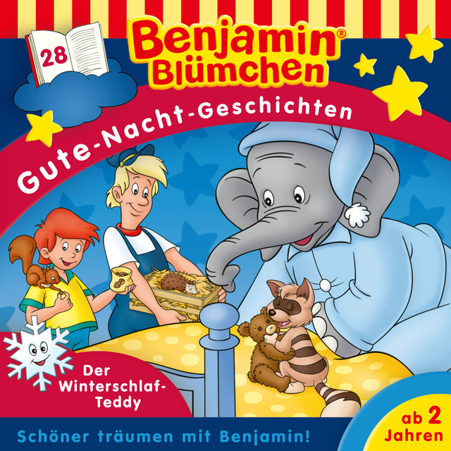 Gute Nacht Geschichten - Folge 28: Der Winterschlaf-Teddy Cover