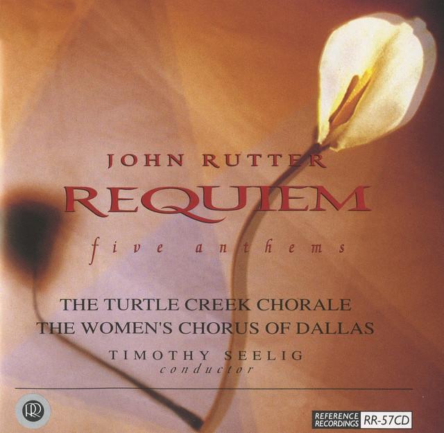 Rutter: Requiem & 5 Anthems Albumcover