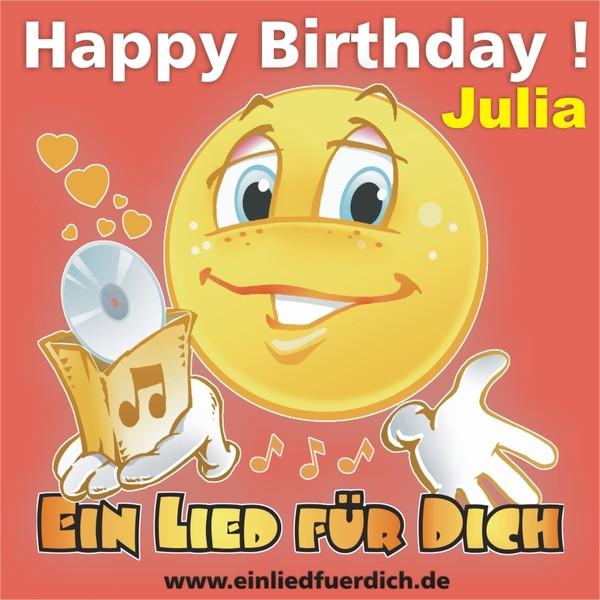 Happy Birthday Zum Geburtstag Julia By Ein Lied Fur Dich On Spotify