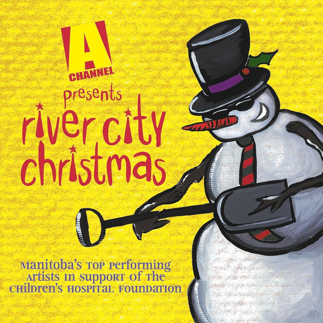 Various Artists River City Christmas album cover