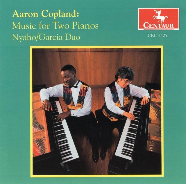 Music for 2 Pianos Albumcover