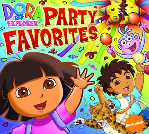 Dora The Explorer Party Favorites Albumcover