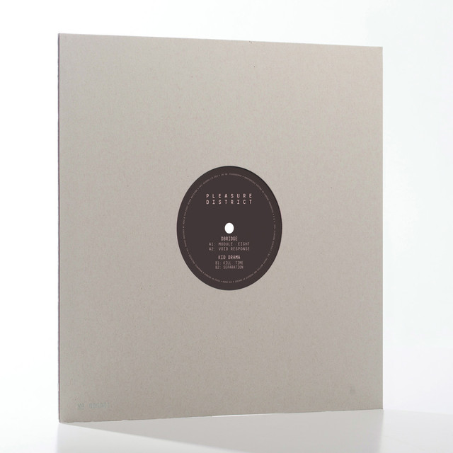Pleasure District 002 - dBridge / Kid Drama