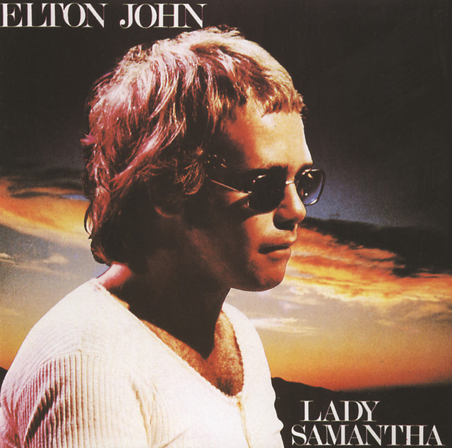 Elton John Lady Samantha album cover