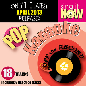 Off The Record Karaoke Sing Loud (In the Style of Alpha Rev) [Karaoke Version] cover