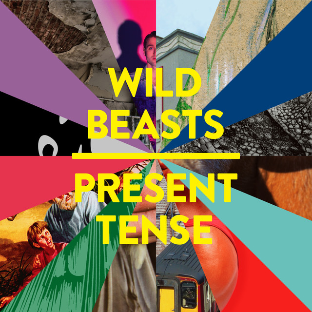 Album cover for Present Tense by Wild Beasts