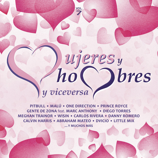 Album cover for Mujeres y Hombres y Viceversa, Vol. 7 by Various Artists