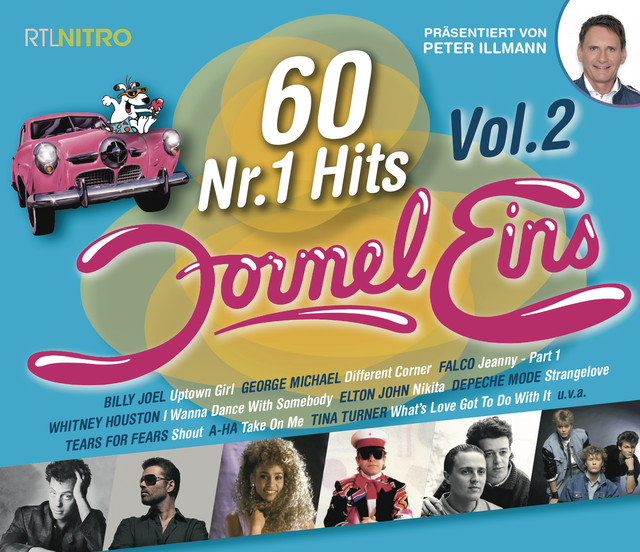 Various Artists Formel Eins 60 Nr.1 Hits, Vol. 2 album cover