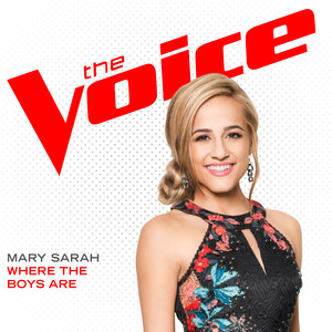 Mary Sarah Where The Boys Are - The Voice Performance cover