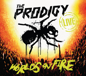 Live - World's On Fire Albumcover