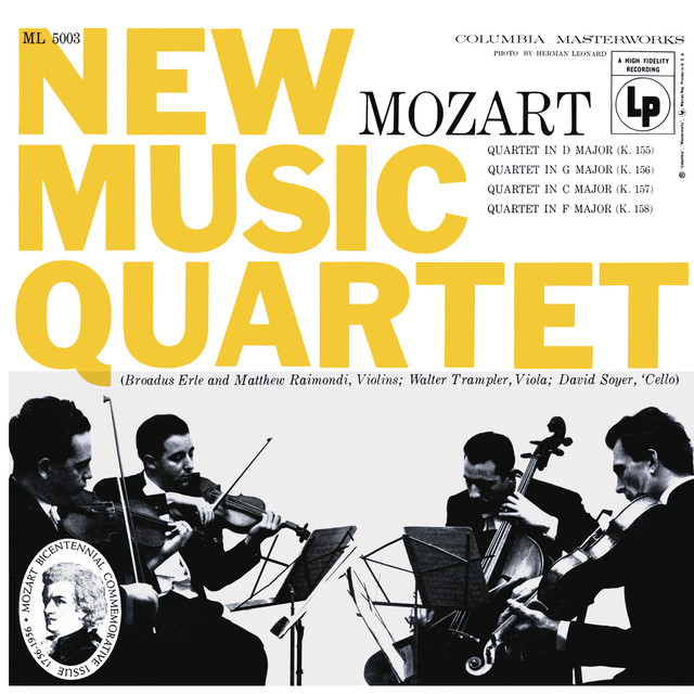 New Music String Quartet on Spotify