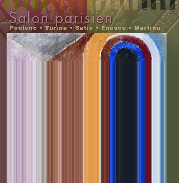Poulenc / Turina: Violin Sonatas Albumcover