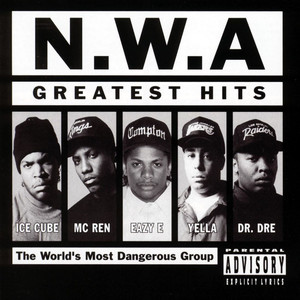 N.W.A. Greatest Hits (World) Albumcover