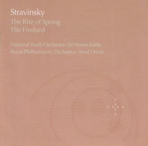 Stravinsky:The Rite of Spring/The Firebird Albumcover