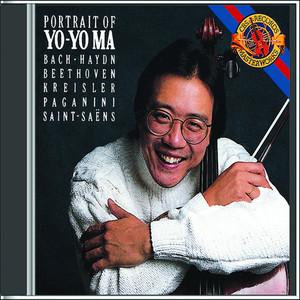 Portrait of Yo-Yo Ma Albumcover