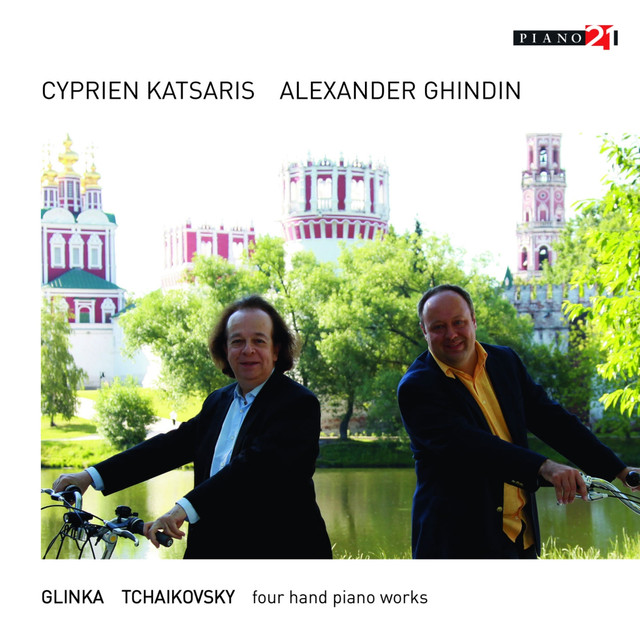 Russian Piano Music for Four Hands: Glinka & Tchaikovsky Albumcover