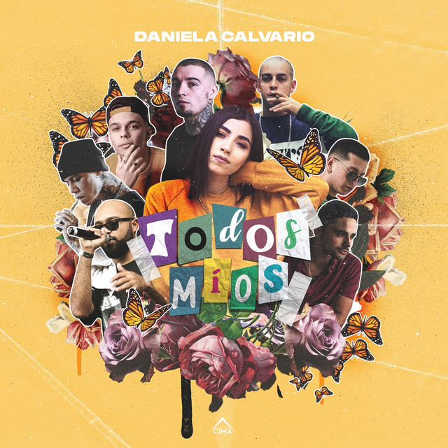 Album cover for Todos Míos by Daniela Calvario