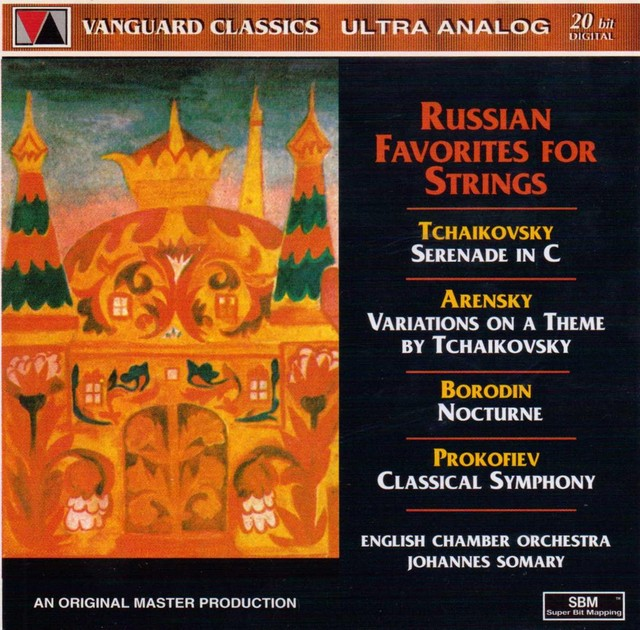 Russian Favorites for Strings Albumcover