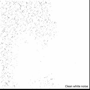 Clean White Noise and other Background Ambiances Albumcover
