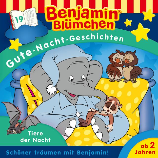 Gute-Nacht-Geschichten - Folge 19: Tiere der Nacht Cover