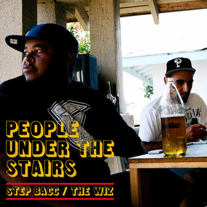 Step Bacc / The Wiz Albumcover