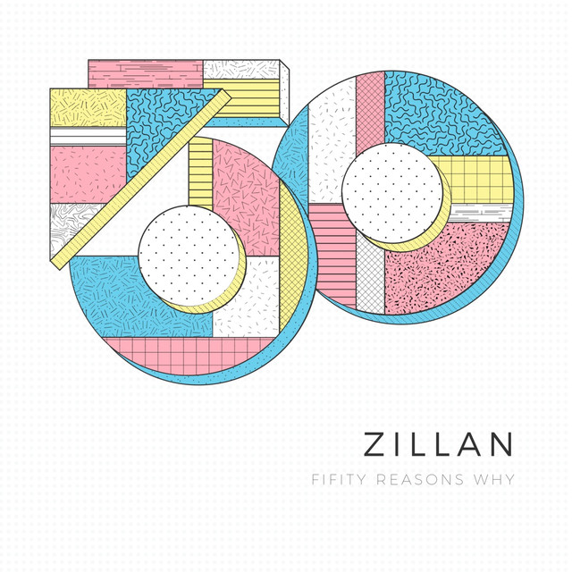 Album cover for Fifty Reasons Why by Zillian