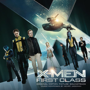 X-MEN: FIRST CLASS Albumcover