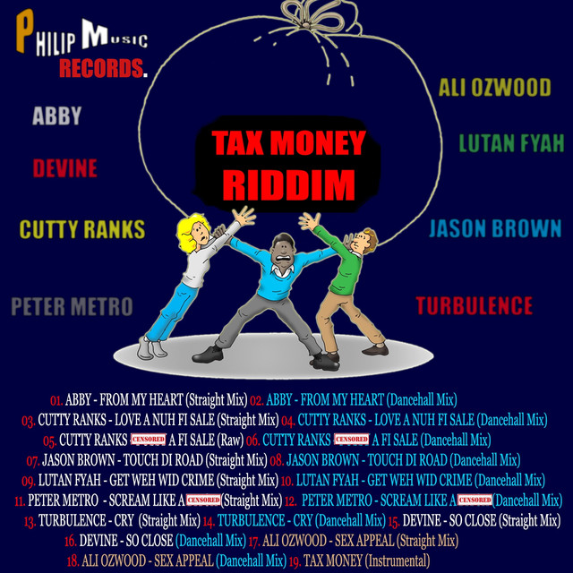 Tax Money Riddim by Various Artists on Spotify
