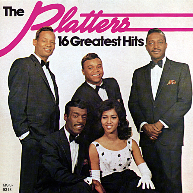 The Platters 16 Greatest Hits album cover