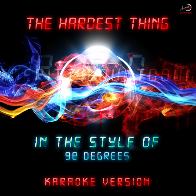 The Hardest Thing (In the Style of 98 Degrees) [Karaoke