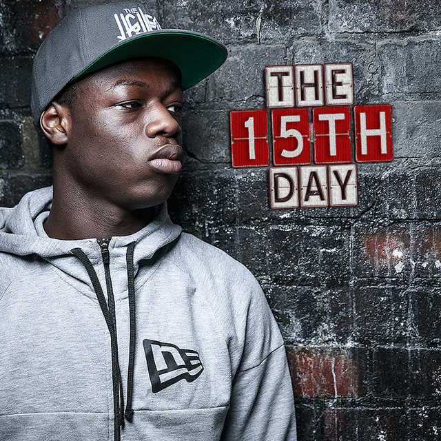 Album cover for The 15th Day by J HUS