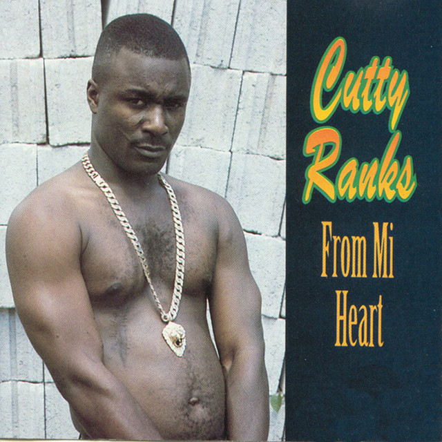 Album cover for From Mi Heart by Cutty Ranks