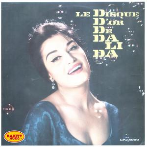Le disque d'or de Dalida