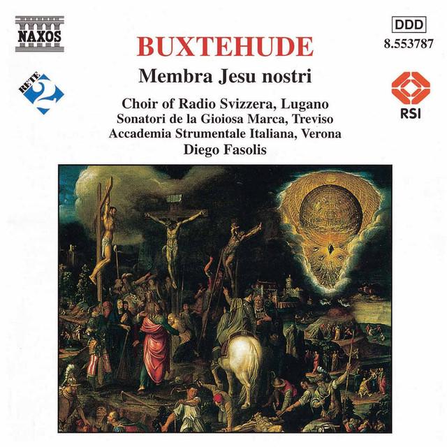 Buxtehude: Membra Jesu Nostri Albumcover