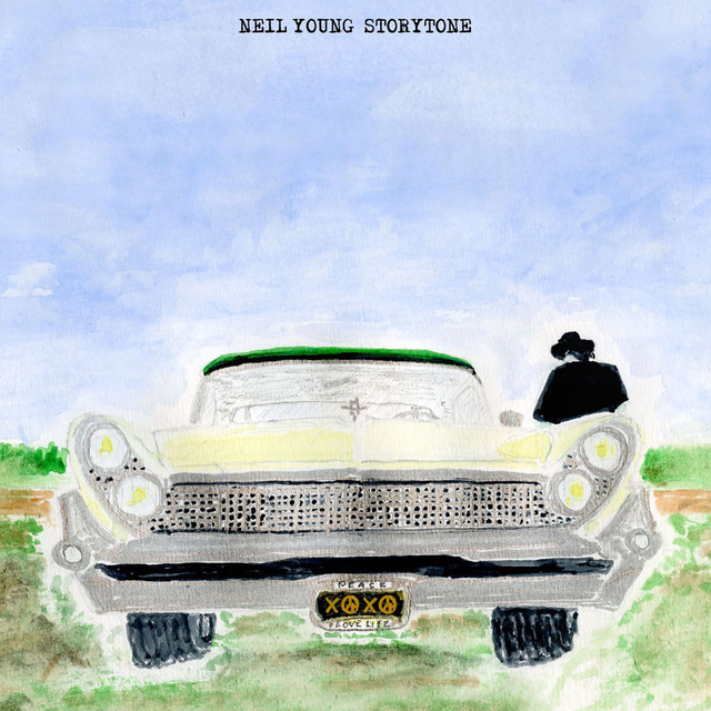 Neil Young Storytone (Deluxe Version) album cover