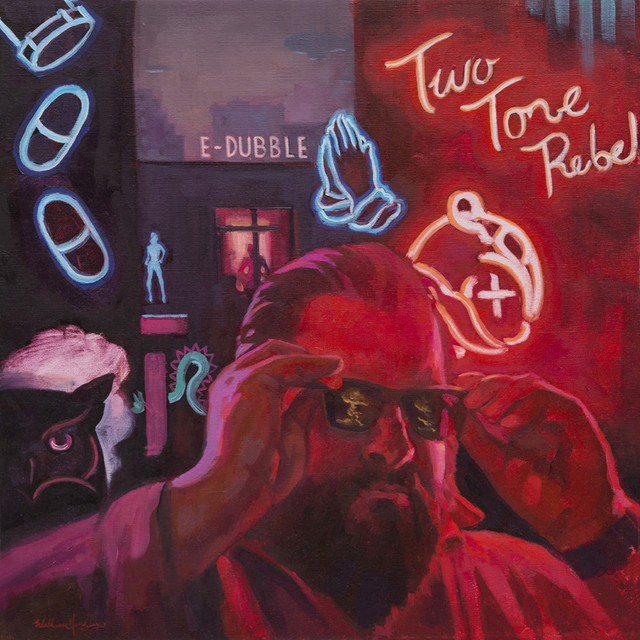 Album cover for Two Tone Rebel by E-Dubble