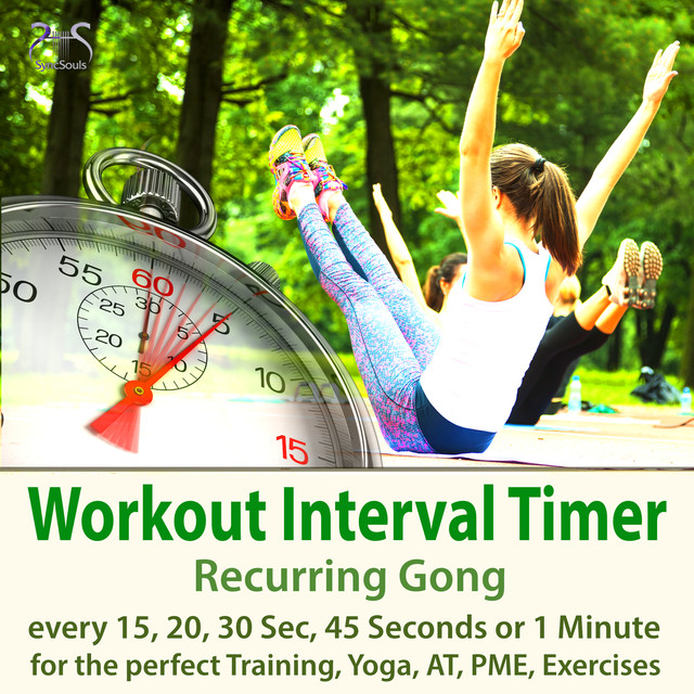 Workout Interval Timer: Recurring Gong for the Perfect