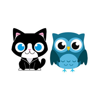The Cat and Owl