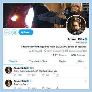 Adamn Killa Follows You