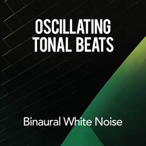 Oscillating Tonal Beats: Binaural White Noise