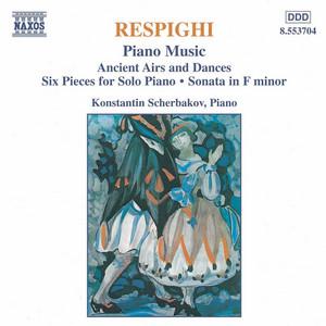 6 Pezzi, P. 44: No. 3. Notturno by Ottorino Respighi, Konstantin Scherbakov