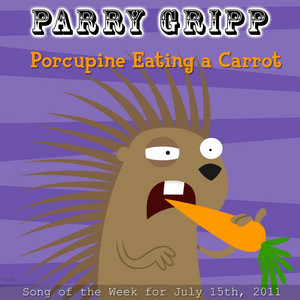 Porcupine Eating A Carrot