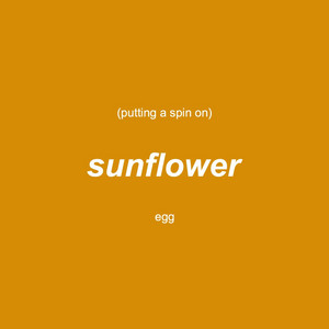 Putting a Spin on Sunflower