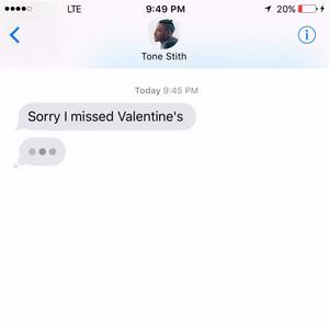 Sorry I Missed Valentine's