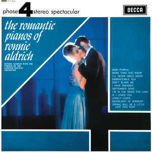 The Romantic Pianos Of Ronnie Aldrich album
