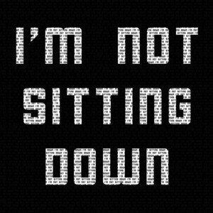 I'm Not Sitting Down cover art