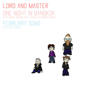 One Night In Bangkok: February Song EP album