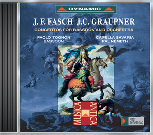 Bassoon Concerto in C Major, FWV L:C2: I. Allegro cover art